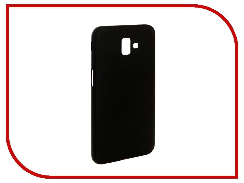 Аксессуар Чехол для Samsung J6 Plus J610F 2018 Zibelino PC Black ZPC-SAM-J610F-BLK аксессуар чехол для huawei y5 prime 2018 zibelino pc black zpc huw y5pr 2018 blk