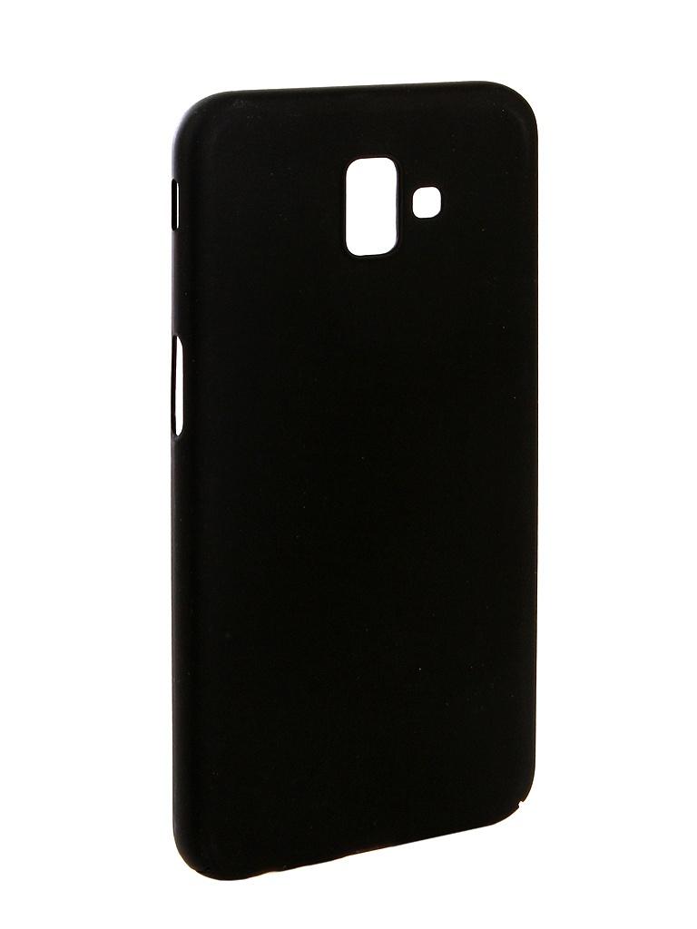 Аксессуар Чехол Zibelino для Samsung J6 Plus J610F 2018 PC Black ZPC-SAM-J610F-BLK аксессуар чехол zibelino для samsung j4 plus j415f 2018 pc blue zpc sam j415f blu