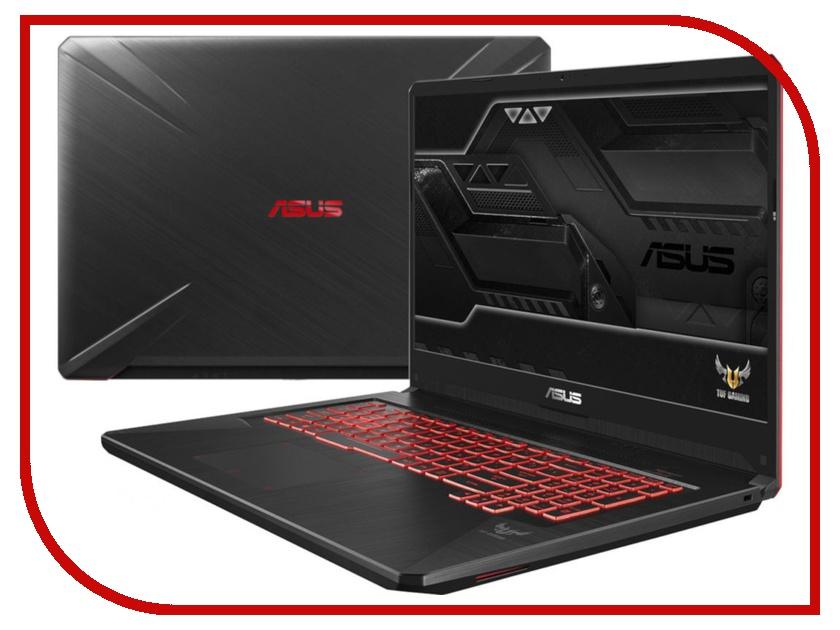 Ноутбук ASUS FX705GM-EW019 Black 90NR0122-M00420 (Intel Core i7-8750H 2.2 GHz/8192Mb/1000Gb+128Gb SSD/nVidia GeForce GTX 1060 6144Mb/Wi-Fi/Bluetooth/Cam/17.3/1920x1080/DOS) ноутбук asus x756uv ty042t 90nb0c71 m00420