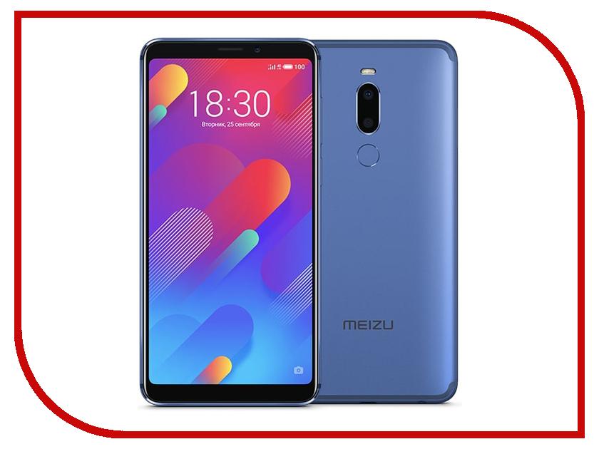 Сотовый телефон Meizu M8 64Gb Blue телефон meizu pro 5 64gb серебристо черный
