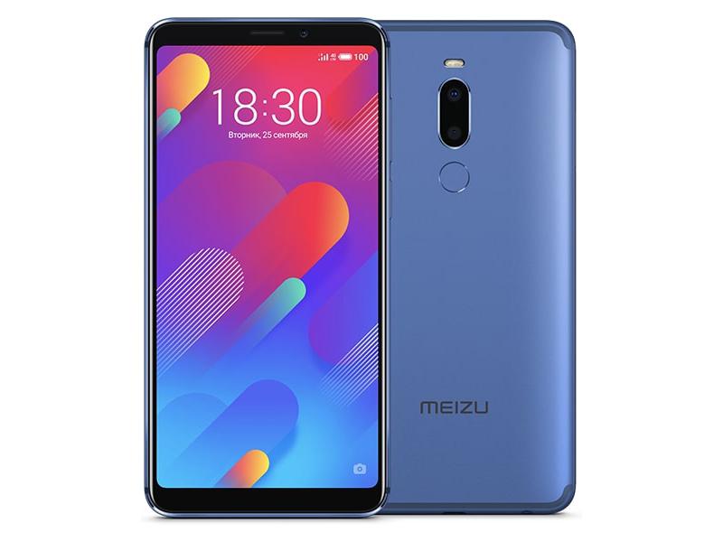 Сотовый телефон Meizu M8 64Gb Blue сотовый телефон asus zenfone 5 ze620kl 4 64gb midnight blue