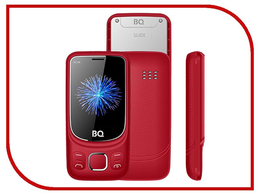Сотовый телефон BQ BQ-2435 Slide Red сотовый телефон bq bqm 1822 ferrara red