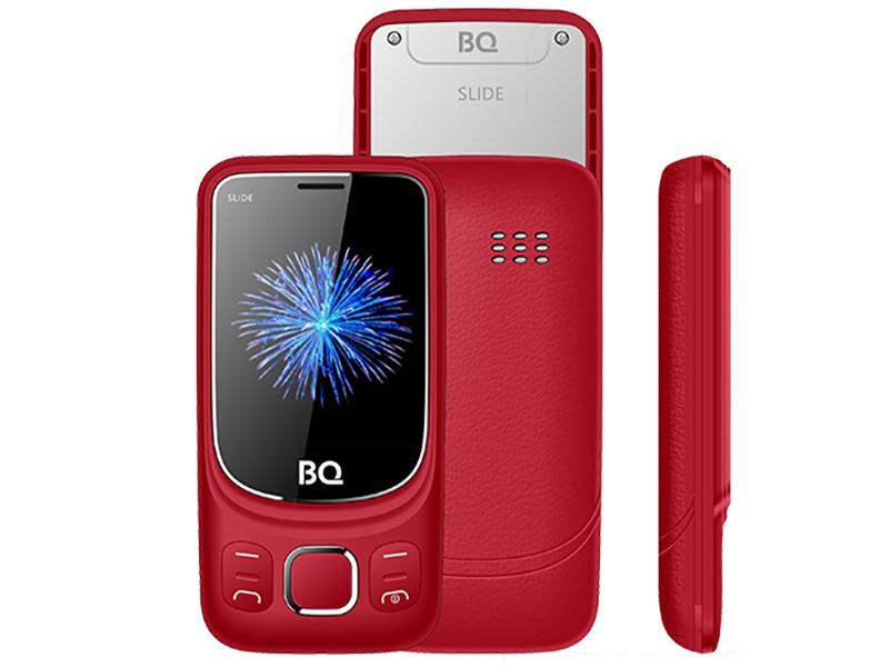 Сотовый телефон BQ BQ-2435 Slide Red телефон