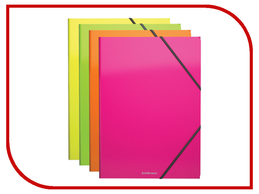 Папка ErichKrause Glance Neon А4 43052 / 227751