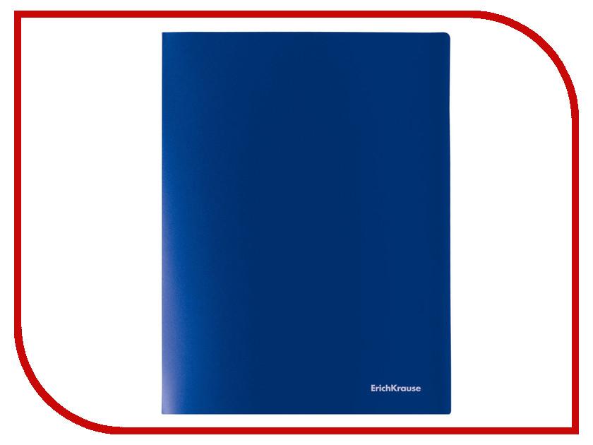 Папка ErichKrause Classic Blue 43026 / 227735 erichkrause erichkrause ранец generic с эргономичной спинкой wild horse