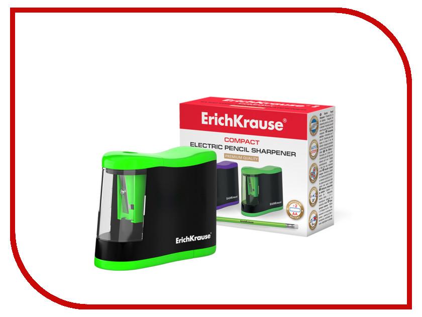 Точилка электрическая ErichKrause Compact 44503 / 227721 erichkrause erichkrause ранец generic с эргономичной спинкой wild horse