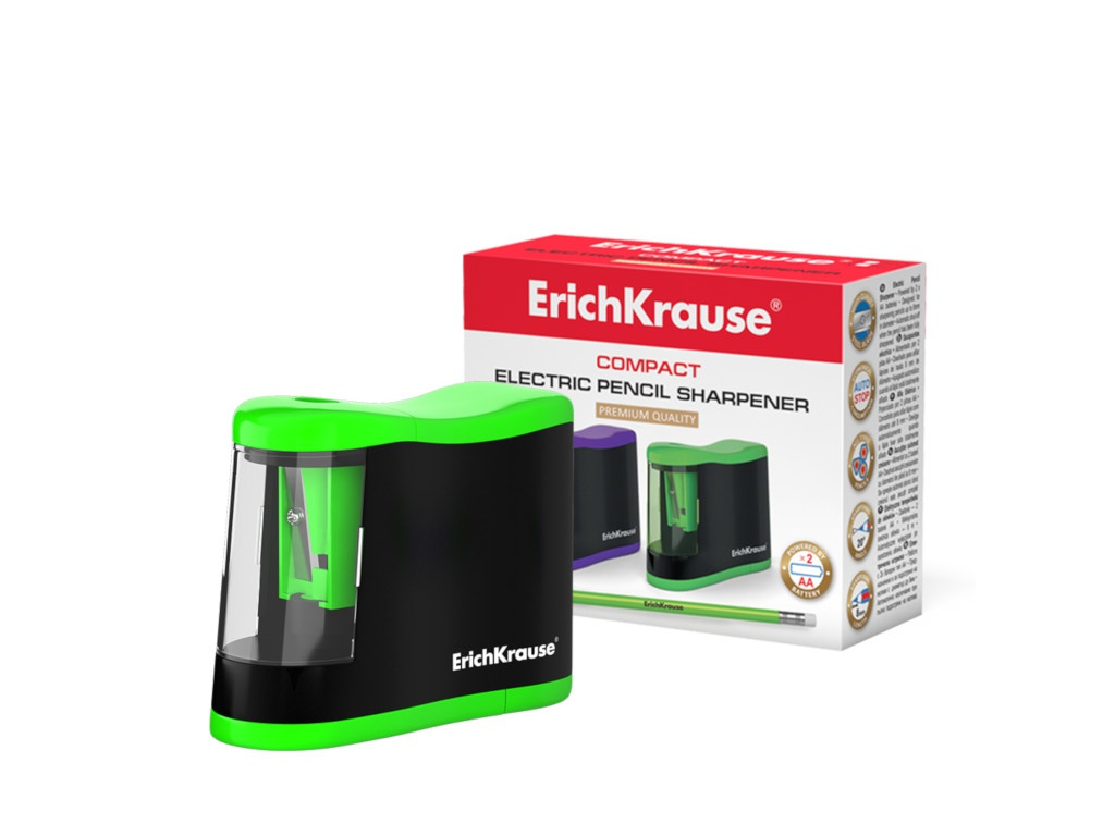 Точилка электрическая ErichKrause Compact 44503 / 227721
