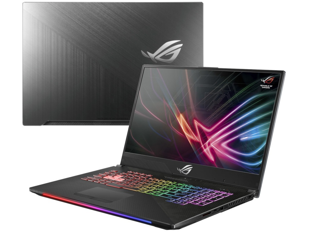 Ноутбук ASUS GL704GM-EV069T Gunmetal 90NR00N1-M01360 (Intel Core i5-8300H 2.3 GHz/8192Mb/1000Gb+256Gb SSD/nVidia GeForce GTX 1060 6144Mb/Wi-Fi/Bluetooth/Cam/17.3/1920x1080/Windows 10 Home 64-bit)