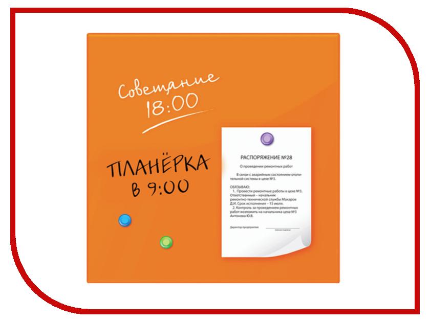Доска магнитно-маркерная Brauberg 45x45cm Orange 236738 наволочки almofadas decorativas 4 45x45cm cojines page 9