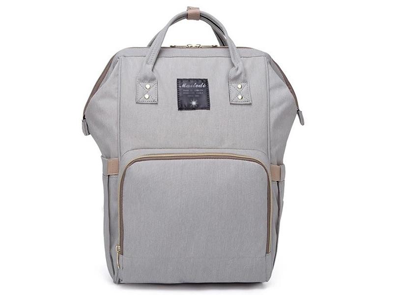 Рюкзак-сумка для мамы и малыша Veila Grey 1423