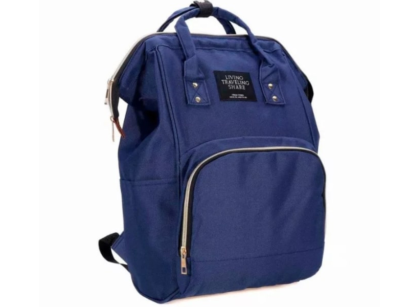 Рюкзак сумка для мамы и малыша Veila Blue