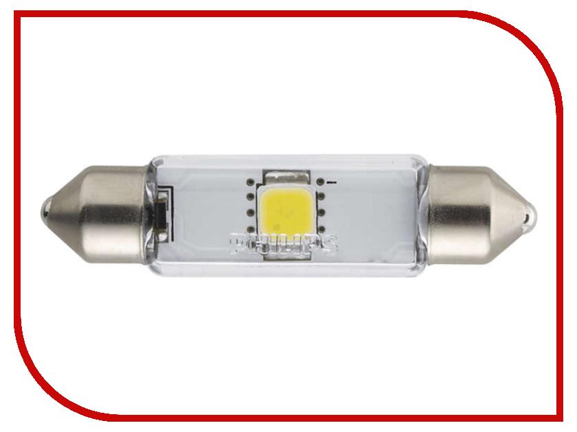 Лампа Philips Fest T10.5 12V-1W SV8.5-43/11 (1 штукa) 12945 4000KX1 лампа светодиодная philips fest t10 5x38 4000k x tremevision led 1w 1 шт 12858 4000kx1