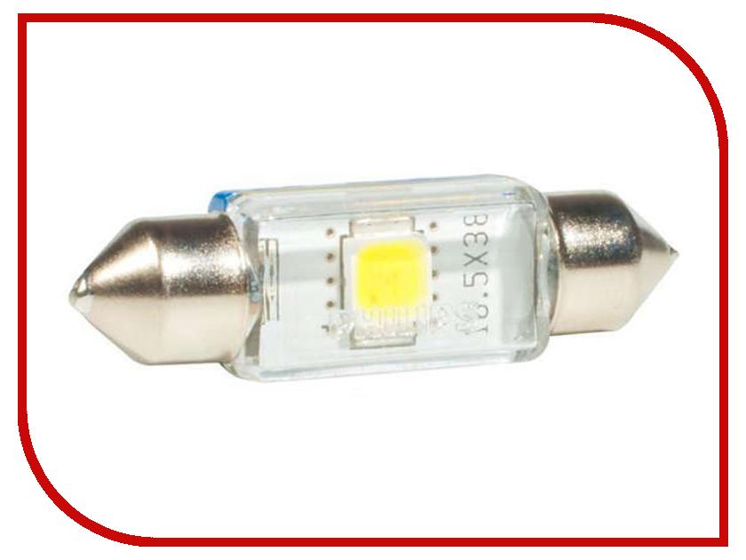 Лампа Philips Fest T10.5 24V-1W SV8.5-38/11 (1 штукa) 24944 6000KX1 флуоресцентная лампа philips led t8 1 2