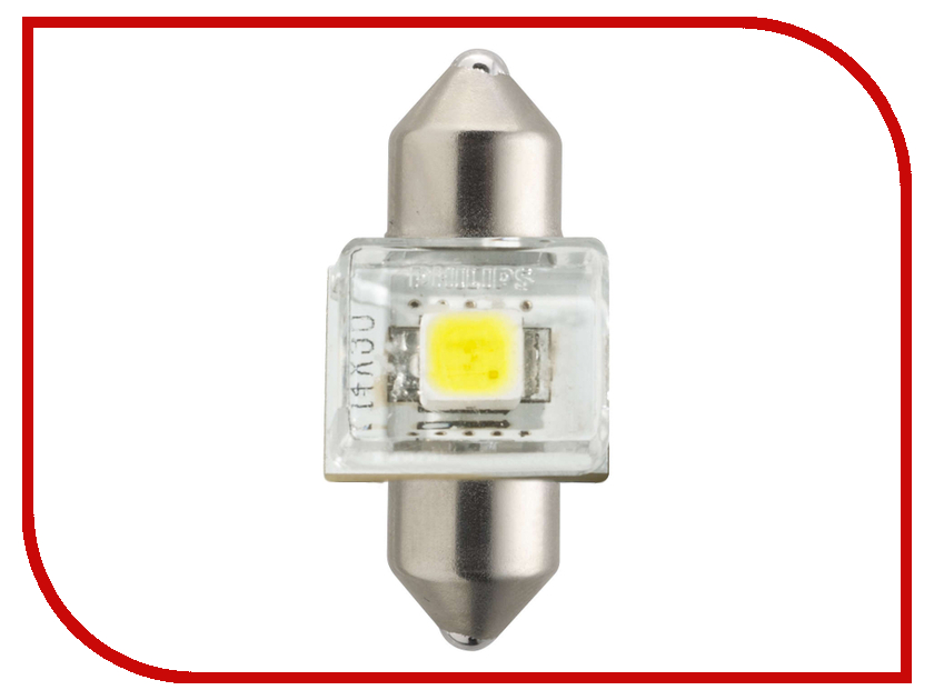 Лампа Philips Fest T10.5 24V-1W SV8.5-30/11 (1 штукa) 12941 6000KX1