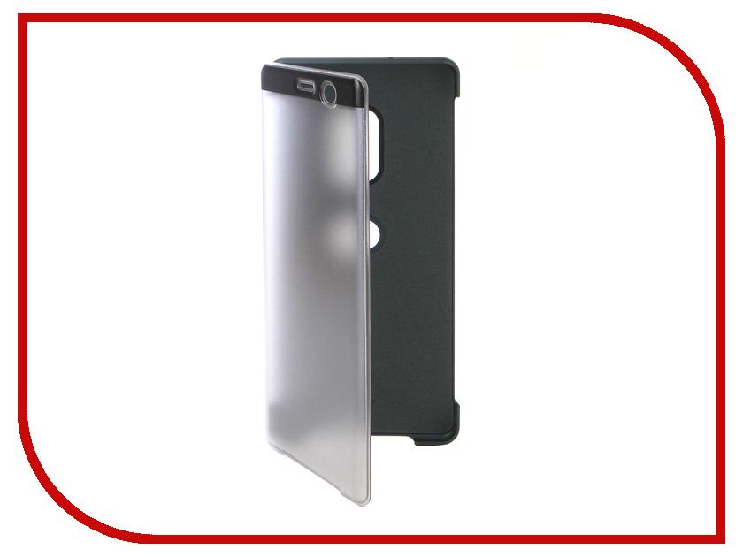 Купить Аксессуар Чехол Sony Xperia XZ3 с окошком SCTH70 Green