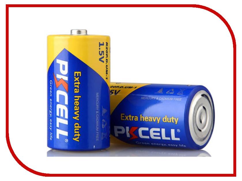 цена на Батарейка D - Pkcell R20P-2S (2 штуки)