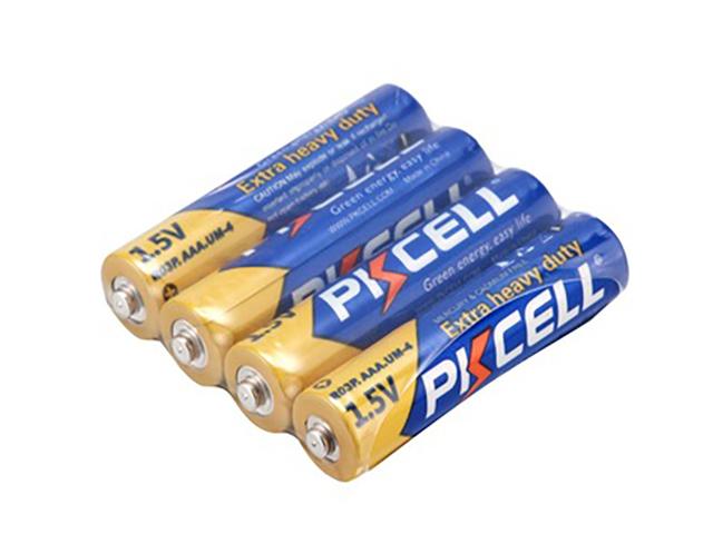Батарейка AAA - Pkcell R03P-4S (4 штуки)