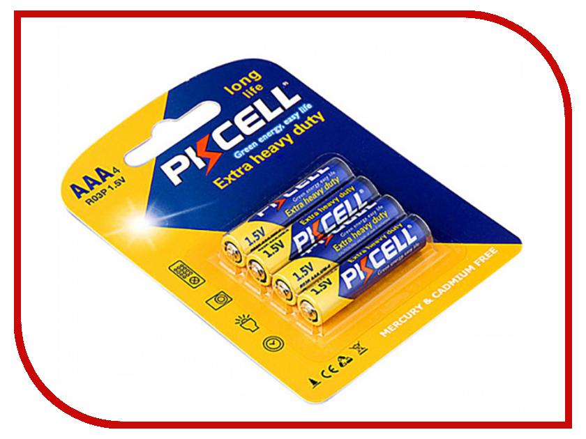 Батарейка AAA - Pkcell R03P-4B (4 штуки) батарейка aaa camelion blue r03 r03p bp4b 4 штуки