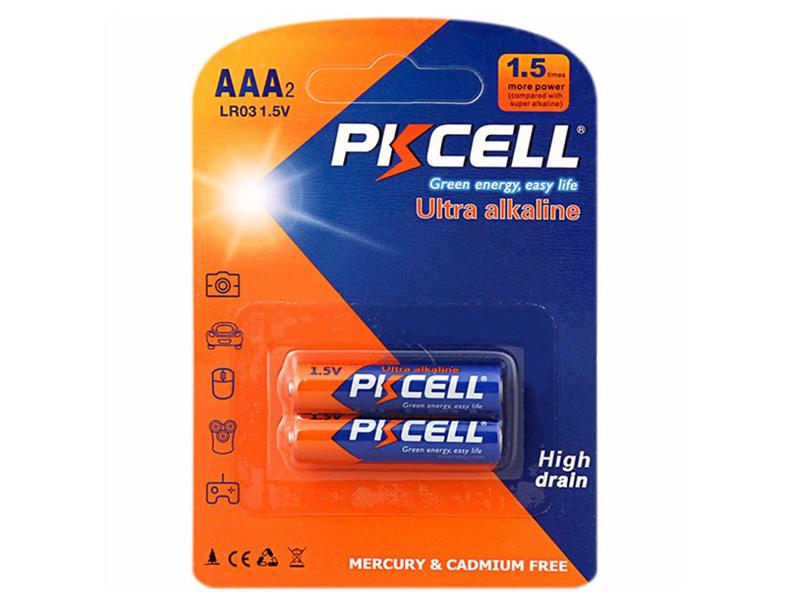 Батарейка AAA - Pkcell LR03-2B (2 штуки)