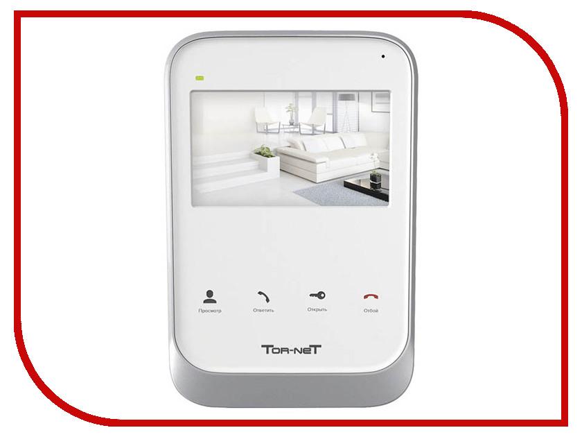 Видеодомофон Tor-neT TR-26W комплект tor net tr 25m b 412bl