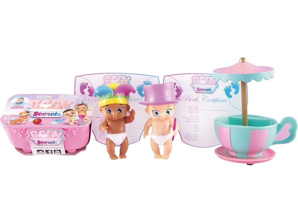 Кукла Zapf Creation Baby Secrets Набор с каруселью 930-335
