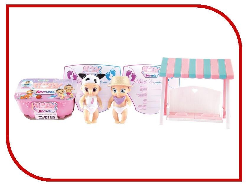 Кукла Zapf Creation Baby Secrets Набор с садовыми качелями 930-328