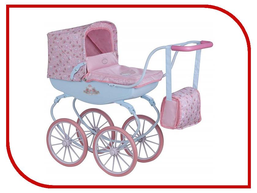 Коляска Zapf Creation Baby Annabell Pink-Light Blue 1423573 аксессуары для кукол zapf игрушка baby annabell памперсы
