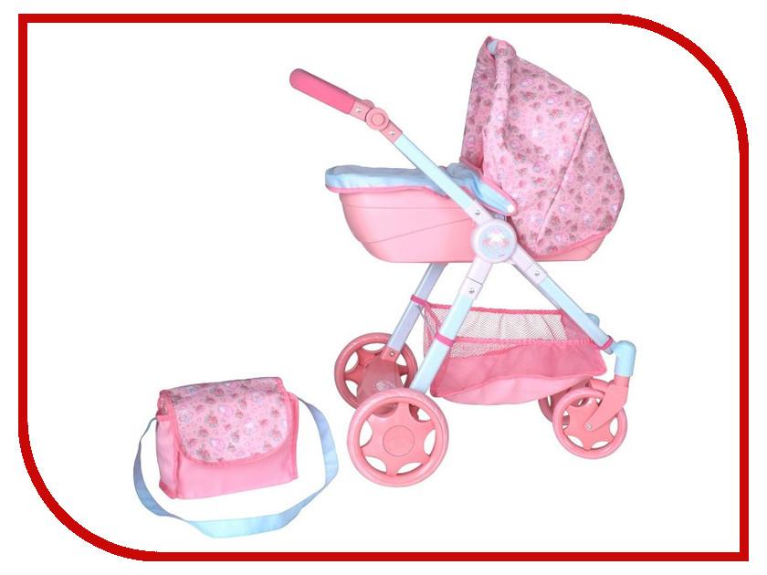Коляска Zapf Creation Baby Annabell Pink 1423572 аксессуары для кукол zapf игрушка baby annabell памперсы