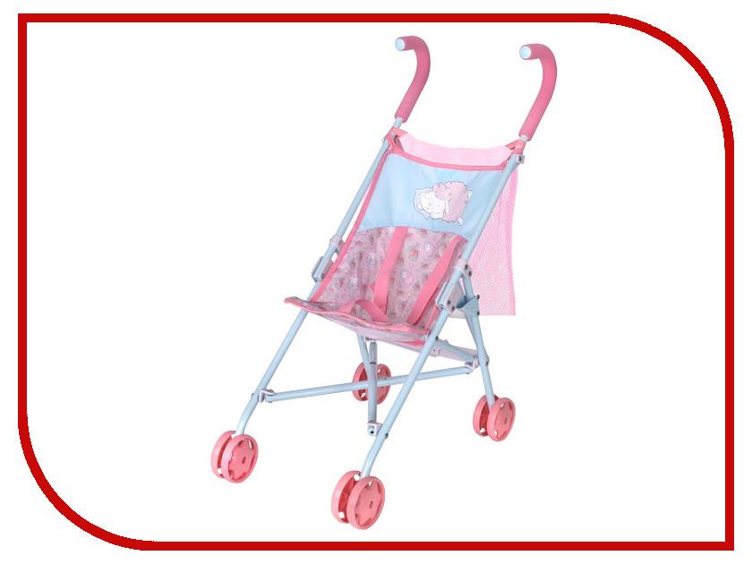 Коляска Zapf Creation Baby Annabell Pink-Light Blue 1423570 аксессуары для кукол zapf игрушка baby annabell памперсы