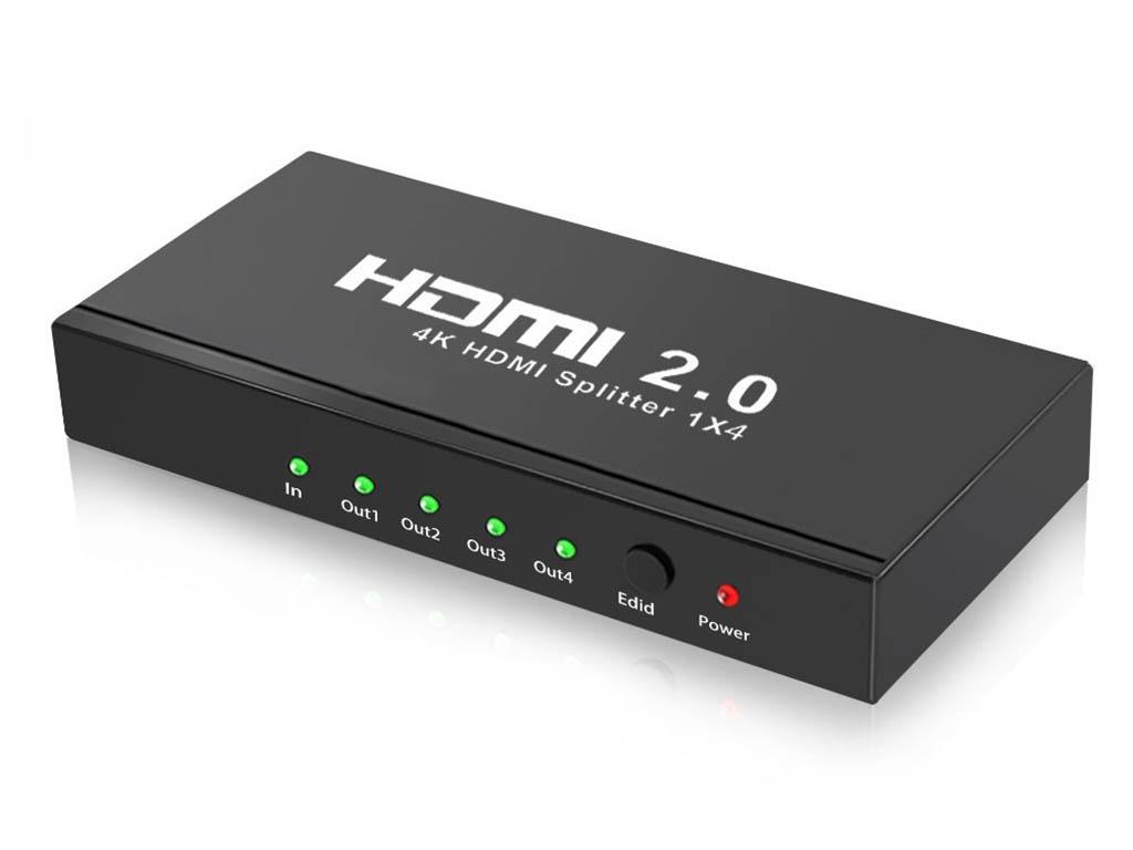 Сплиттер Orient HDMI 4K Splitter 1x4 HSP0104HL-2.0 цена
