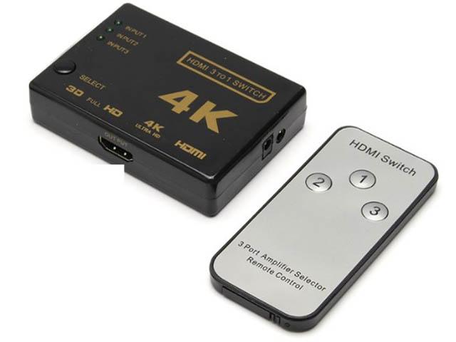 Сплиттер Orient HDMI 4K HS0301H-IR