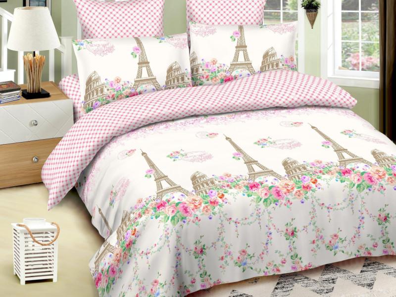 Постельное белье Amore Mio BZ Paris Комплект 2 спальный Сатин 5535