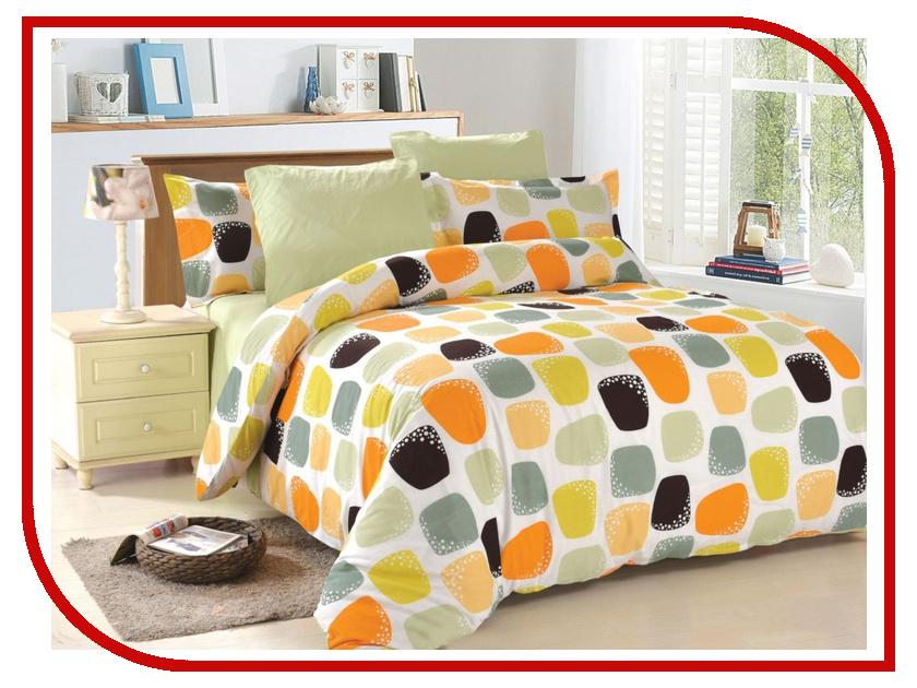 Постельное белье Amore Mio BZ Mila OR Комплект 2 спальный Поплин 4709 постельное белье amore mio bz genoa комплект 1 5 спальный сатин 1061