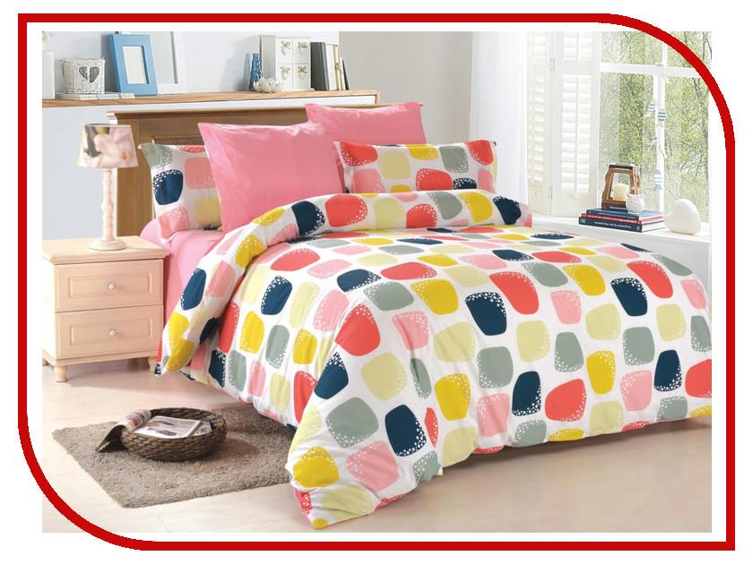 Постельное белье Amore Mio BZ Mila PI Комплект 2 спальный Поплин 4708 постельное белье amore mio bz genoa комплект 1 5 спальный сатин 1061