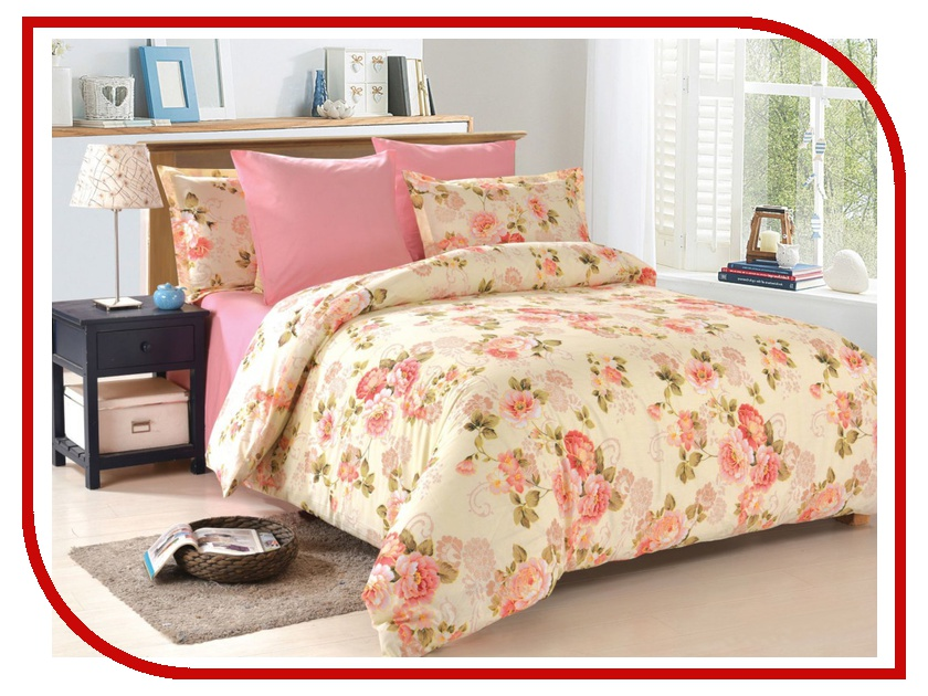Постельное белье Amore Mio BZ Daniela Комплект Евро Поплин 4658