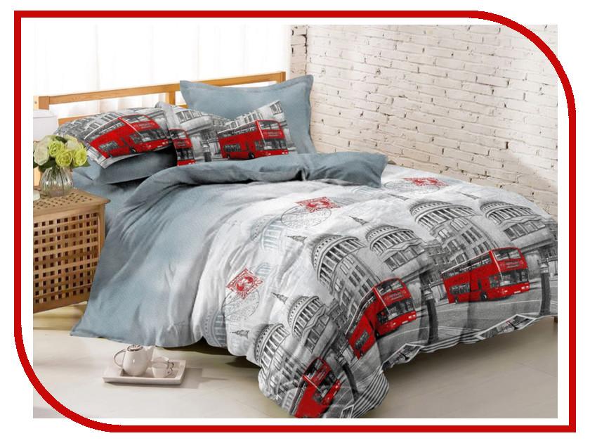 Постельное белье Amore Mio BZ Leeds Комплект 2 спальный Полисатин 6871