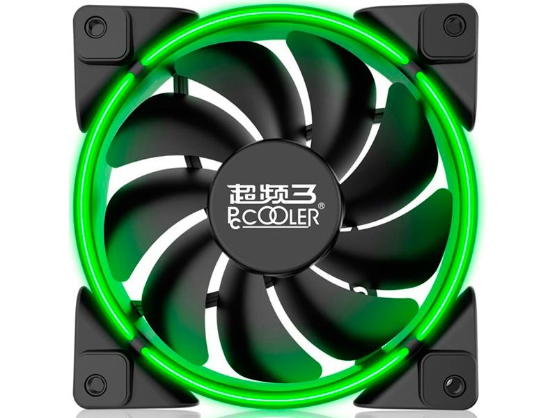 Вентилятор PCcooler Corona 120mm Green