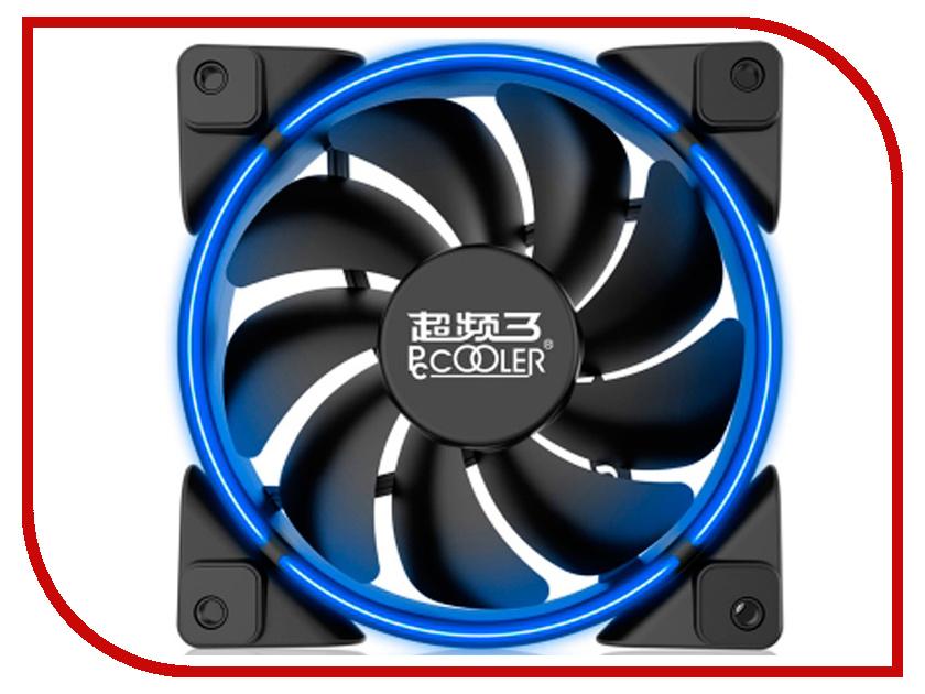 Вентилятор PCcooler Corona 120mm Blue pccooler v2 cpu cooling fan
