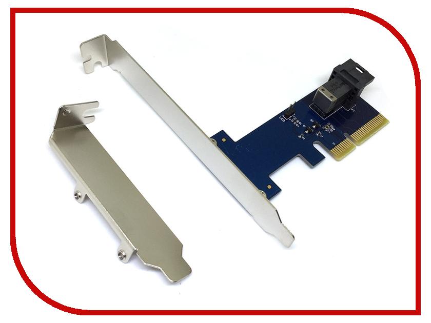 Контроллер Espada PCI-E SFF-8643 U.2 PCIeU2 43812 amf 8643