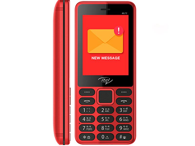 Сотовый телефон Itel IT5022 Red сотовый