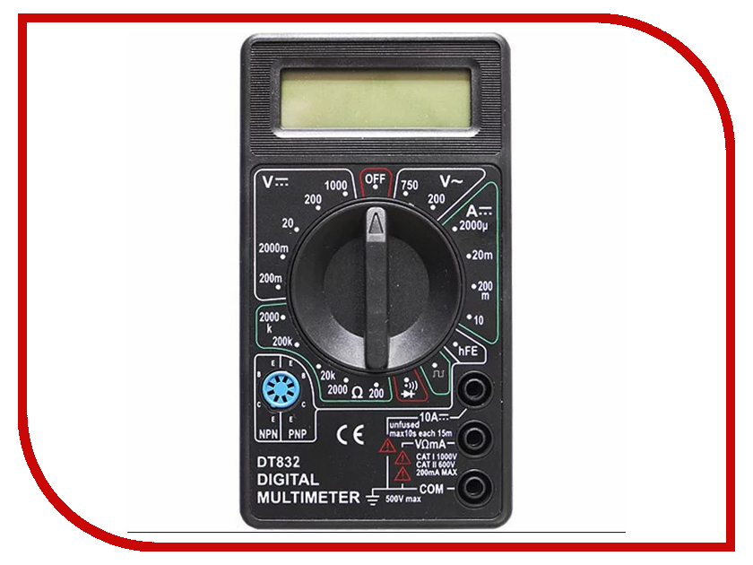 Мультиметр Kromatech DT-830B 58149b001 dt 2x