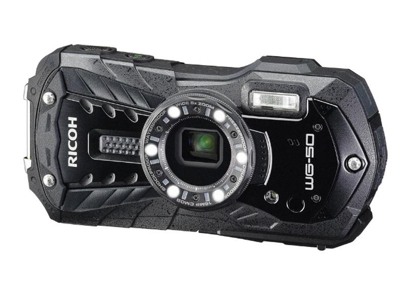 Фотоаппарат Ricoh WG-50 Black — WG-50