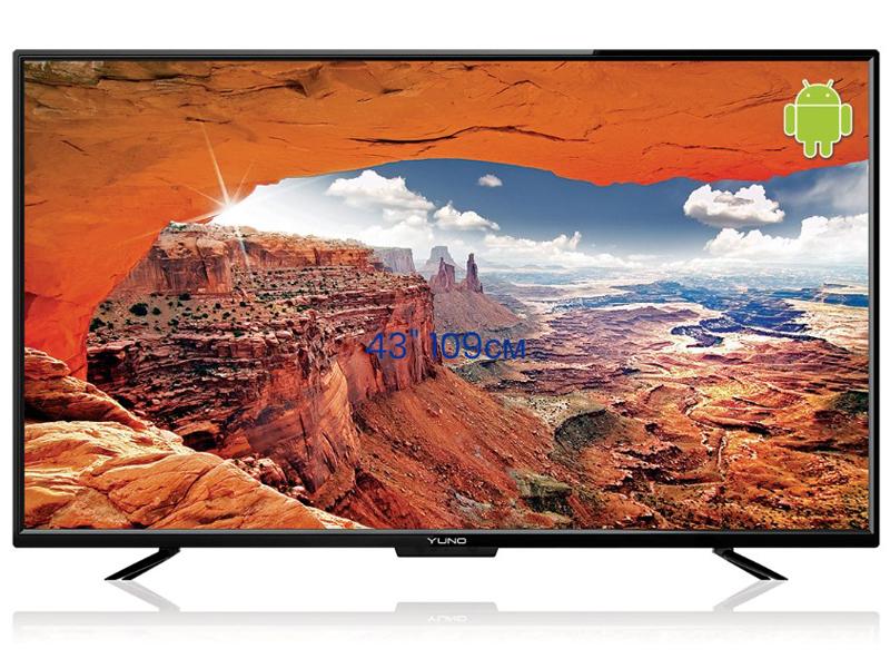 лучшая цена Телевизор Yuno ULX-43FTC245