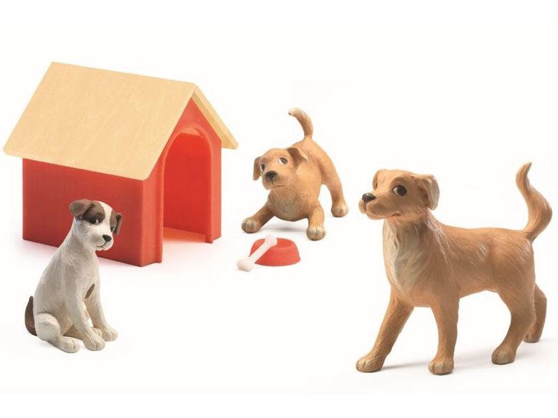 Игрушка Игровой набор Djeco Собаки 07818