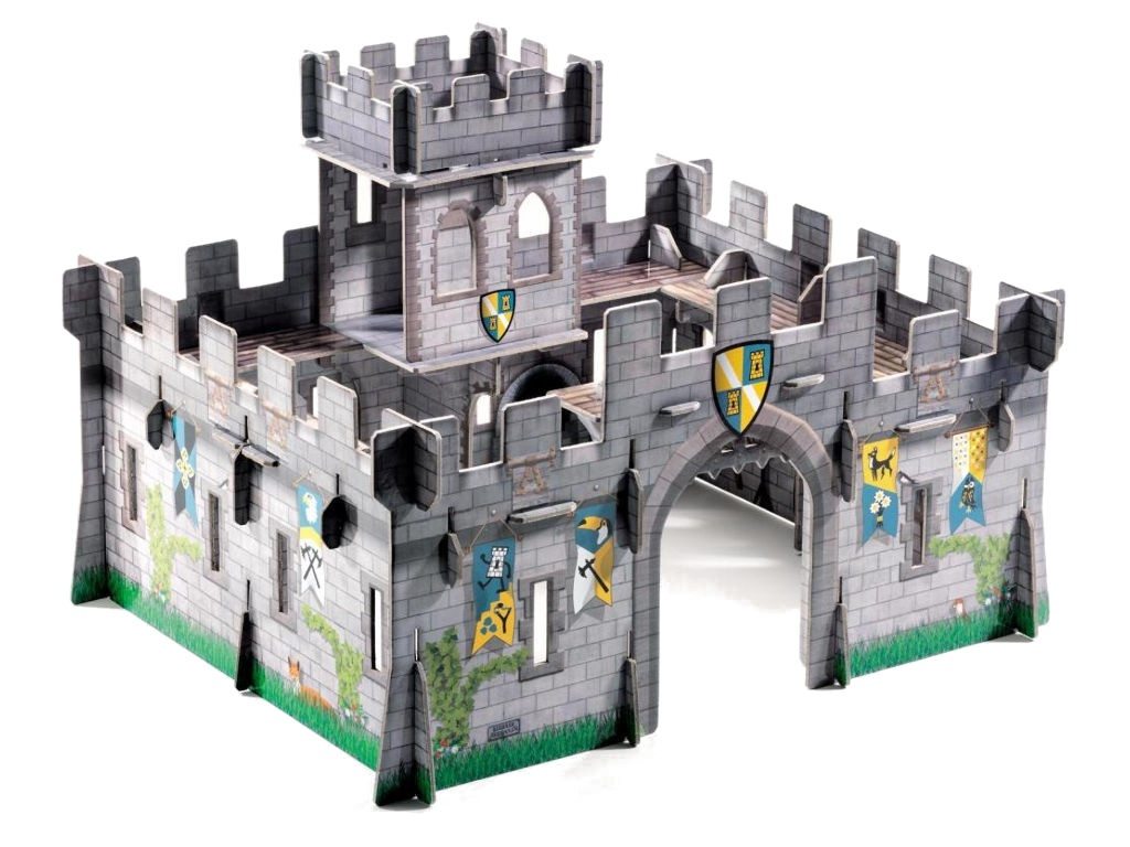 3D-пазл Djeco Средневековый замок 07703
