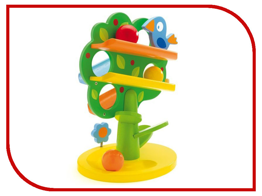 Игрушка DJECO Кугельбан Дерево 06390 djeco djeco игрушка флейта