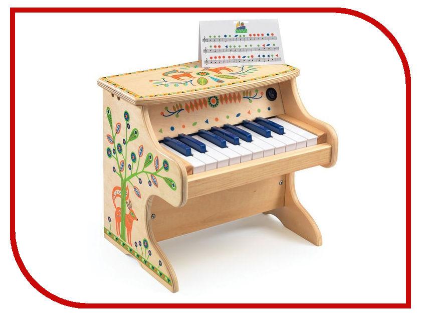 Детский музыкальный инструмент Djeco Электронное пианино 06006 цена 2017
