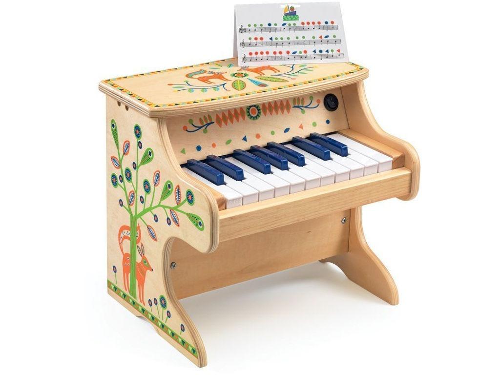 Детский музыкальный инструмент Djeco Электронное пианино 06006