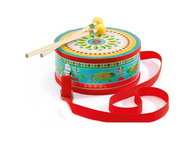 цена на Детский музыкальный инструмент Djeco Барабан 06004
