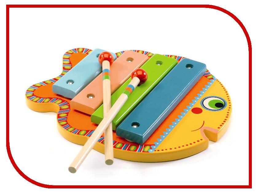 Детский музыкальный инструмент Djeco Ксилофон 06001 музыкальные инструменты smoby музыкальный инструмент ксилофон